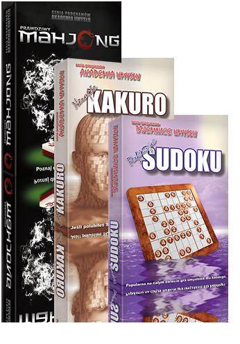 Popularne gry logiczne: KAKURO, MAHJONG, SUDOKU to zabawa oraz rozwijanie inteligencji. Takie łamigłówki zapewniają wysoką sprawność umysłu